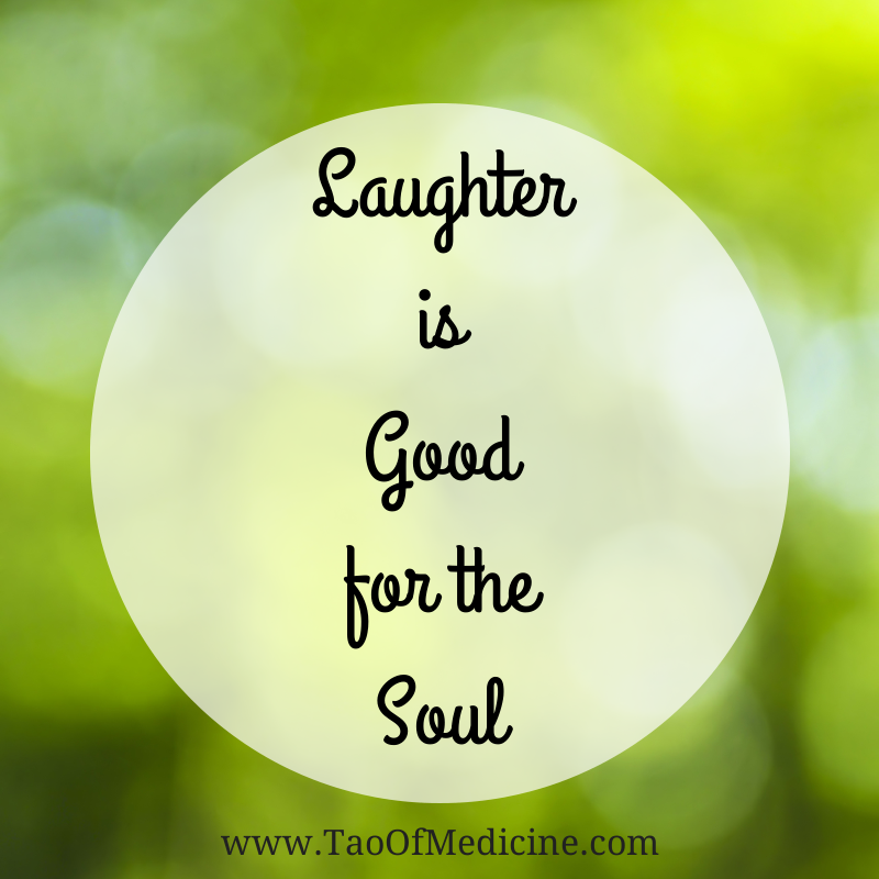 laugher is good for the soul